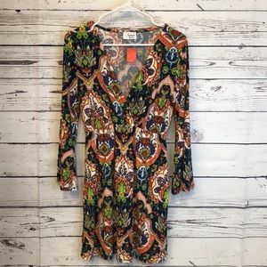 Fantastic Fawn floral wide sleeve dress